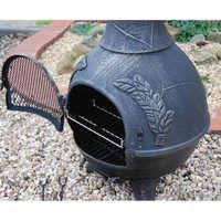 Modern Cast Iron Chiminea
