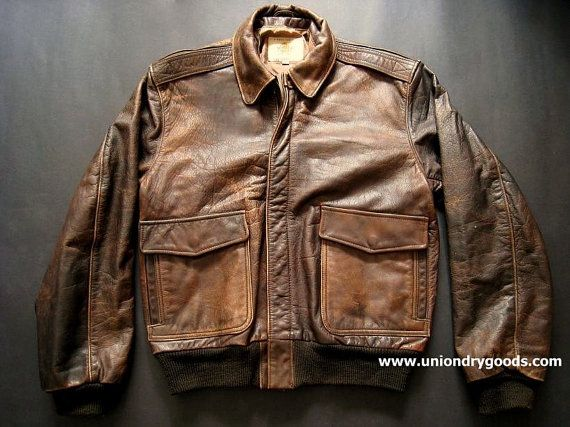 17 Best images about Vintage flight Jackets on Pinterest | Men and ...