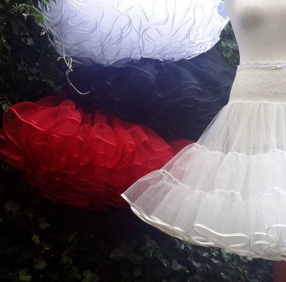Petticoat Tüllpetticoat 2-lagig von petticoatwelt auf Etsy