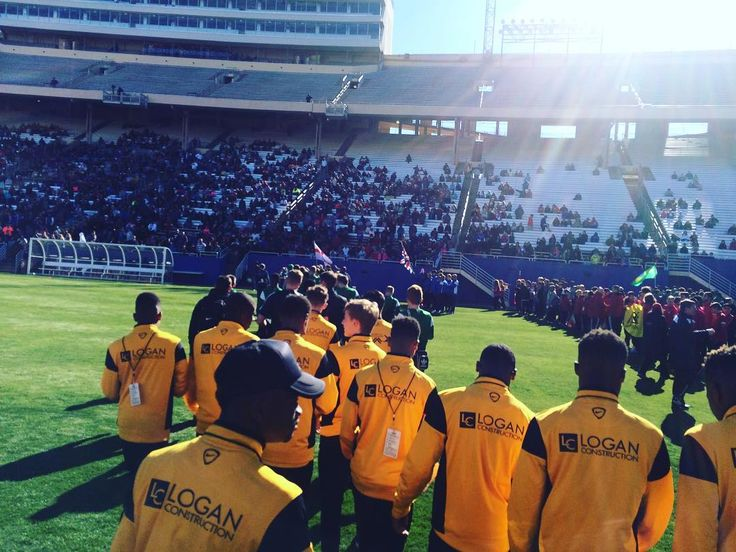Tbt to our tour of America amazing tour great memorys. This is from the @dallascup opening ceremony. #dallascup #dallas #usa #tour #philadelphiaunion #philly #nyc #travel #tbt #experiences #memorys #kineticacademy #kineticfoundation #kinetic #london #southlondon #croydon #charity #chances #opportunity #progression