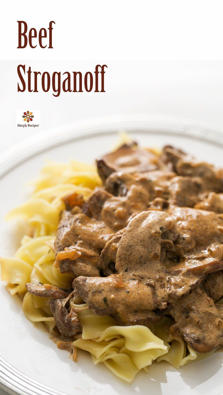 Best 25+ Classic beef stroganoff recipe ideas on Pinterest ...