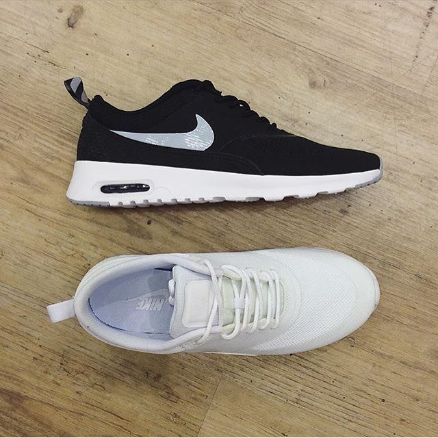 Black and white never goes out of style  Nike, Air Max Thea 1099,- #urbanfotter #urbannorge #nike cred: @urbannarvik