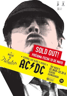 Música - 02/03 y 10/05: Tributo a AC/DC en el Teatro Guiniguada    Las entradas para el Tributo a AC/DC de esta noche a las 20,30 horas en el Teatro Guiniguada están agotadas desde hace días.    Por tal motivo, la organización y el propio Guiniguada han programado una segunda función para el día 10 de mayo. Las entradas, al precio de 10 euros, se pueden comprar a través de este ENLACE