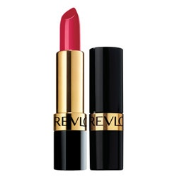 Revlon Super Lustrous lipstick $21.95. It's one of those beauty products you just keep going back to. Beautifully pigmented with silk enriched mega moisturisers and vitamins A, C & E. A lifelong love!