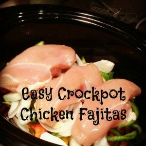 Easy Crockpot Chicken Fajitas - Sweet Treat Eats Use a half can of low sodium chicken broth to add flavor