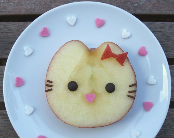 Cute kitty Apple
