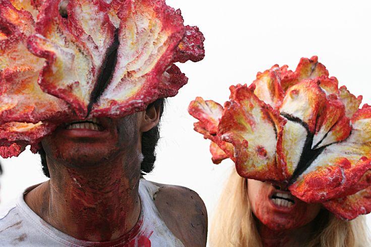Zombies? Very sick people?