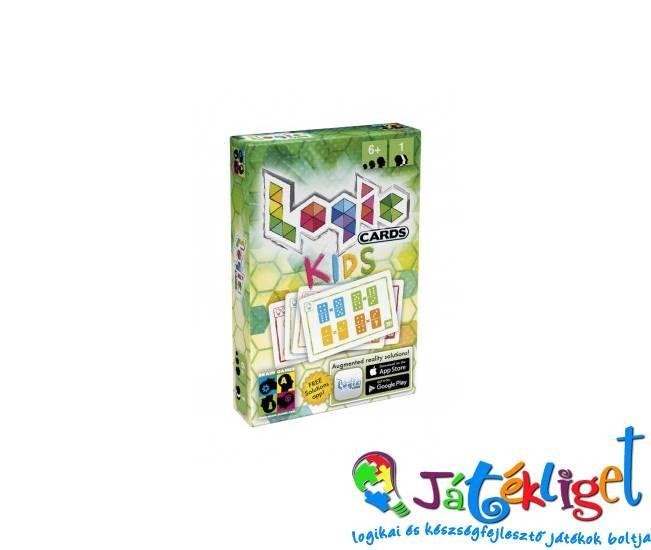 Logikai kártyajáték gyerekeknek -Logic Cards Kids   1300 ft