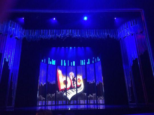 Big The Musical (Original Cast) Starring: Jay McGuiness (Josh) and Diana Vickers (Susan). - Bord Gais 22/12/2016