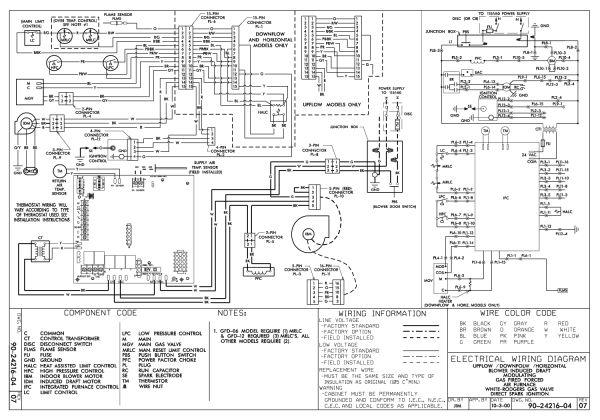 Thermostat Wiring Payne Gas Furance (Dengan gambar)