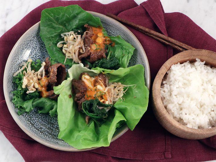 Bulgogi i salladsblad - koreanskt fredagsmys | Recept från Köket.se