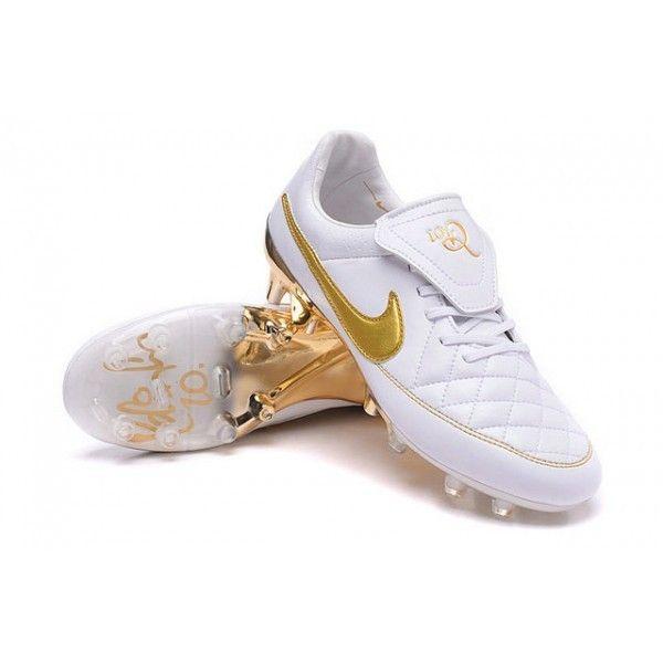 2e3f71ab7 ... netherlands cheap nike tiempo legend v fg mens soccer boots r10 white  golden boot room pinterest