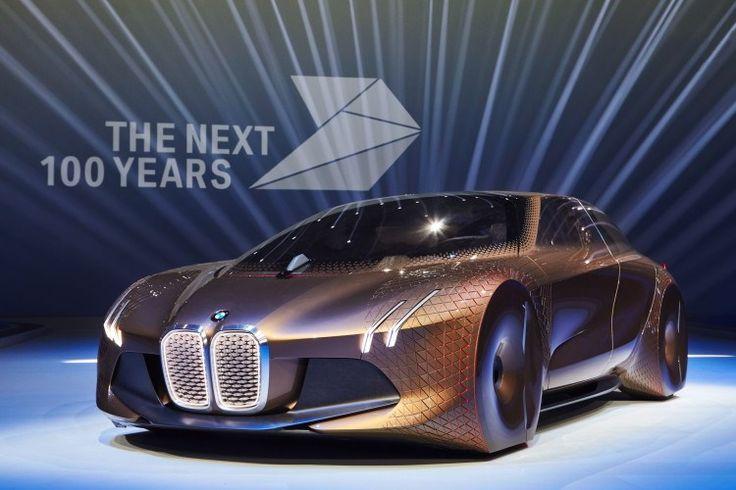 TRENDS · PRODUCTS · ELETRONICS AND CARS · FLEXIBLE METALS · 2017 BMW faz 100 anos e lança conceito revolucionário sobre o carro do futuro - TecMundo