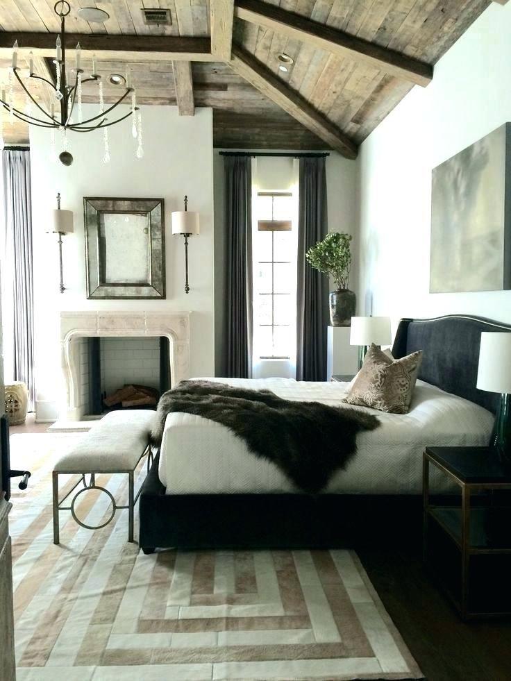 kuhle dekoration mobel landhausstil grau, modernes rustikales schlafzimmer | innenarchitektur 2018 | pinterest, Innenarchitektur