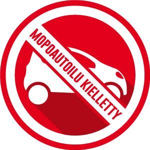 Mopoautoilu kielletty - Loimme yksinkertaisen sivuston parantamaan kauppakeskusten liikenneturvallisuutta.