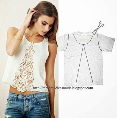 Mundo Fashion Plus Size: Camisetas repaginadas