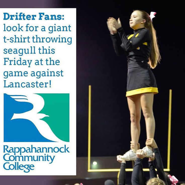 Fans of Colonial Beach Drifter Athletics  Look for a giant t-shirt throwing seagull at tomorrow night's game! (We call him Squall) #nnk #football #northernneck #colonialbeach #drifters #rappahannock #community #college #football