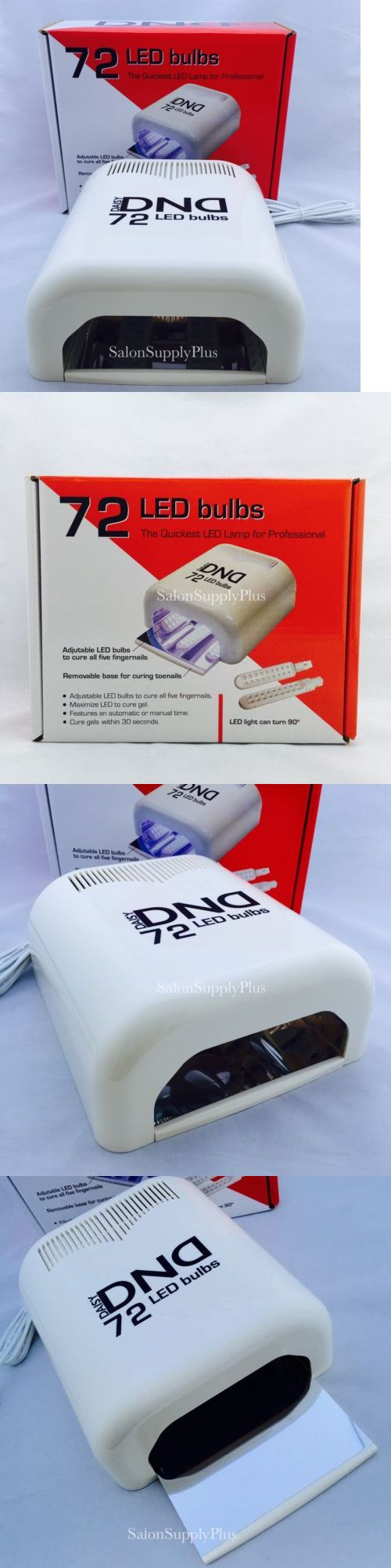 Nail Dryers and UV LED Lamps: Ikonna - Dnd Led Light - Cures Gel Nail Polish 30 Seconds - Usa Assembled -> BUY IT NOW ONLY: $99.99 on eBay!