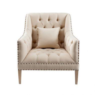 Fotel Gabrielle 84x87x91cm natural