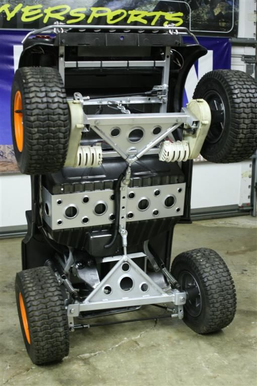 Offroad Metal Frame Jeep With Suspension Part 2