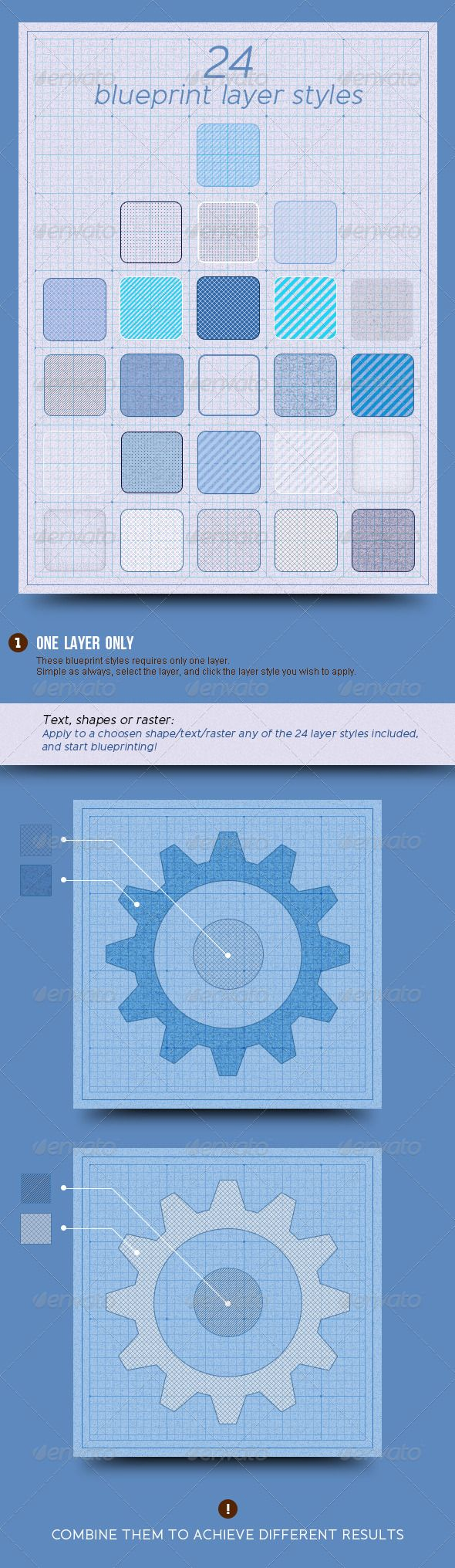 21 best blueprint backgrounds images on pinterest graphics 24 blueprint layer styles malvernweather Gallery