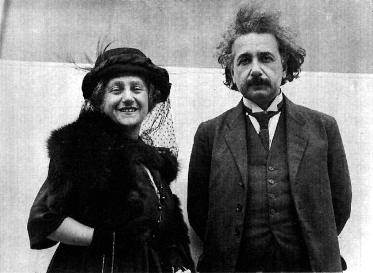 What was the mistake in Einstein's doctoral dissertation and why does this have an effect on chemistry?