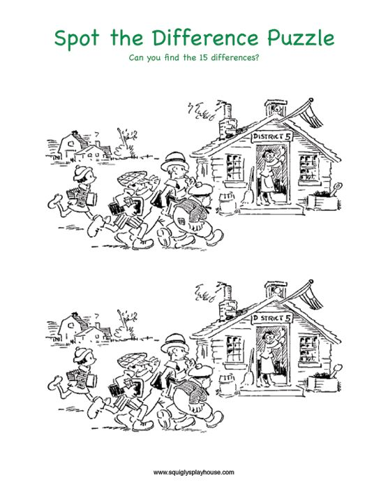 82 best images about Spot the difference on Pinterest   Berenstain ...