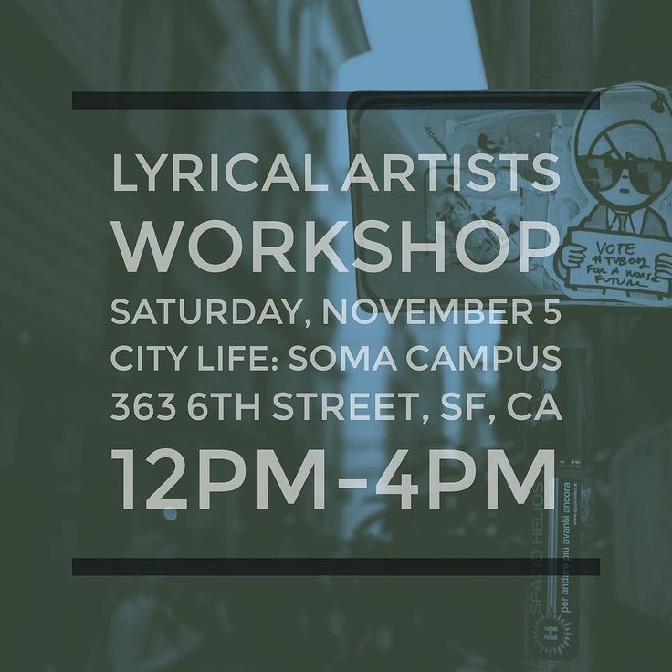 """""""Yo the Fams @lyricalops have got a Free Artist Workshop TODAY!! The knowledge they kicc down & the dope atmosphere they Provide is  Come hang wit some Creatives and leave Inspired & Encouraged!!"""" -@bxcause #LyricalOpposition #LyricalLaFamilia #Lyrical #Words #WordSmith #ArtistDevelopment #Art #Rap #HipHop #SpokenWord #Poetry #Acting #StagePresence #MicCheck #Branding #Building #Networking #Community #FreeSFEvent #Friends #Family #YouAreWelcome #ComeAsYouAre #LeaveBetter"""