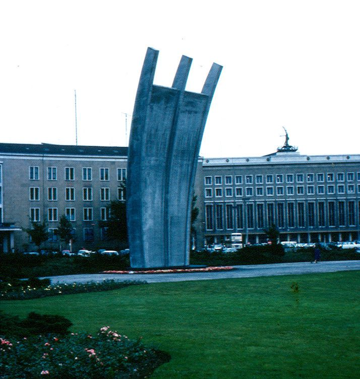 Berlin - Airlift Monument In 2020