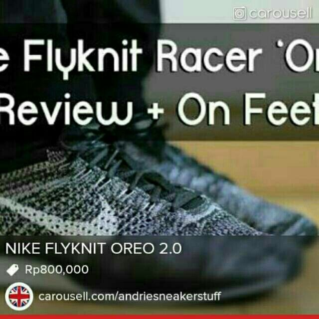 Temukan dan dapatkan NIKE FLYKNIT RACER hanya Rp 800.000 di Shopee sekarang juga! http://shopee.co.id/andriesneakerstuff/7597580 #ShopeeID