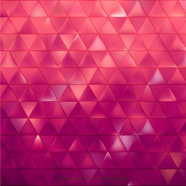 Abstract Pink Triangle Background Pattern  - https://www.123freevectors.com/abstract-pink-triangle-background-pattern-81247/