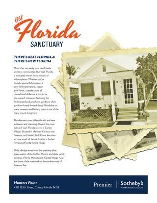 """There's real Florida & there's new Florida -- Florida's west coast offers the old and new, authentic and charming. One of the most beloved """"real"""" Florida secrets is Cortez Village. Situated in Manatee County, near Sarasota, on Florida's Gulf Coast, less than an hour south of Tampa, Cortez is the last remaining Florida fishing village. Click on the link to learn about this Old Florida sanctuary."""