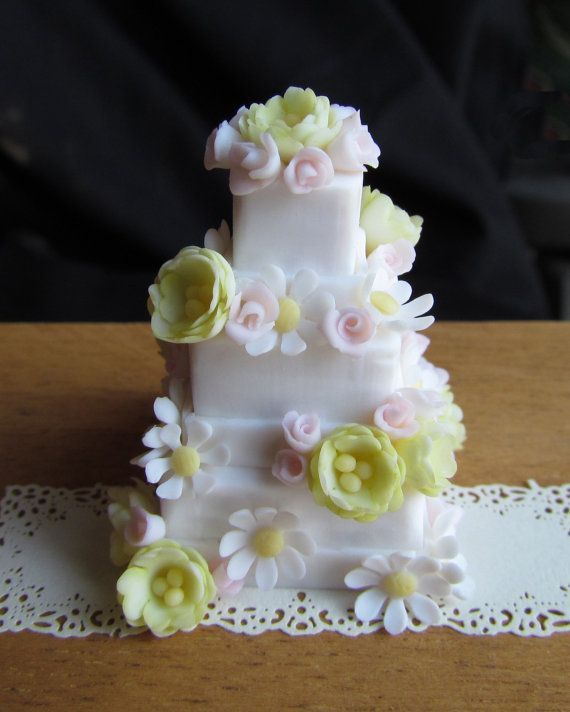 Learn to Make Miniature Dollhouse Cakes by GoddessofChocolate, $16.99