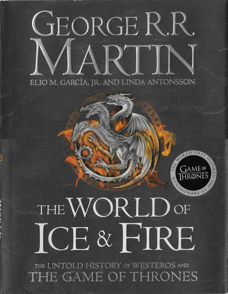 George R R Martin Elio M Garcia Jr Linda Antonsson The World Of Ice And Fire Harper Voyager Uk 20 Science Fiction Books Science Fiction Music Albums