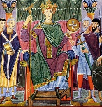 """Otto I """"the Great"""" King of Germany, Emperor Holy Roman Empire Ottonian Dynasty; my 33rd great grandfather"""