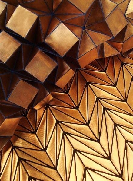 origami metal 28 images metal origami bird sculpture
