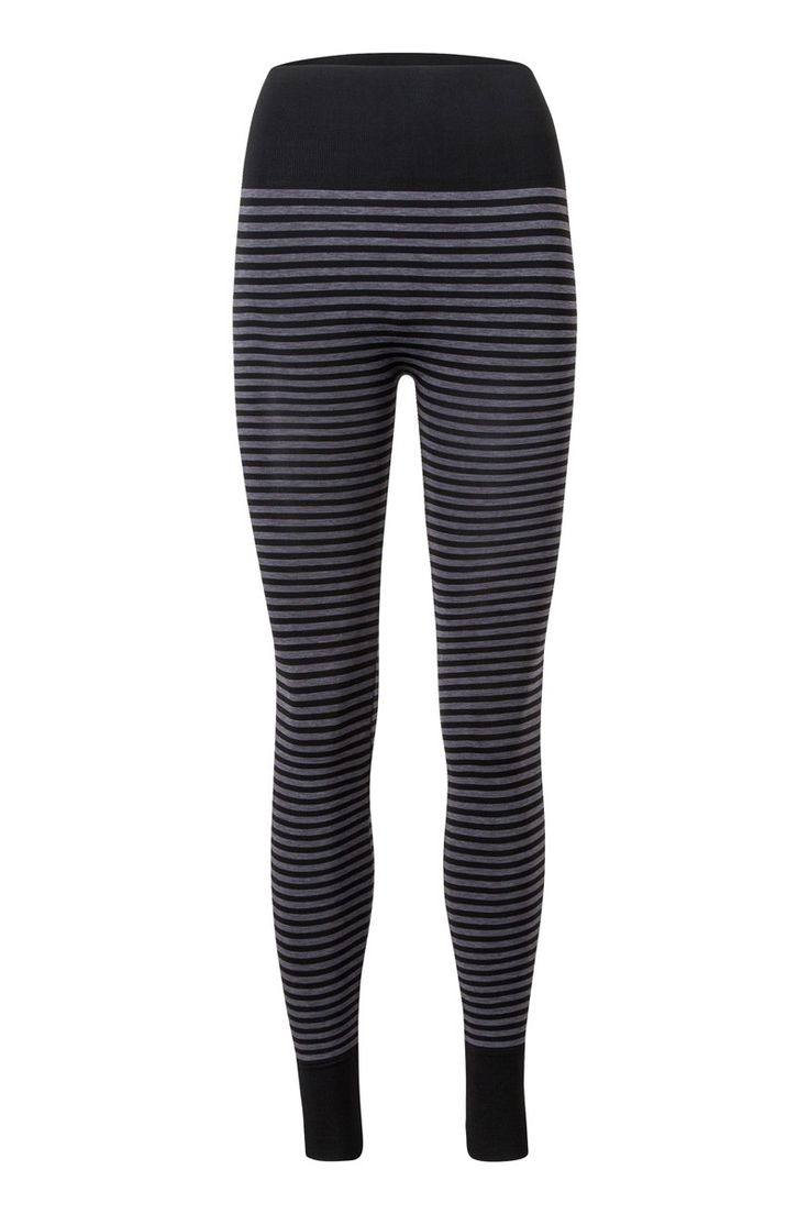 the one pants small striped black/antrazit