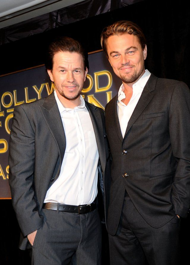 Mark Wahlberg and Leonardo DiCaprio were a pair of hot cops in