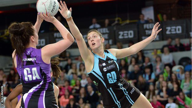 Sportvantgarde's blog. : Netball Superleague: Surrey Storm complete the dou...