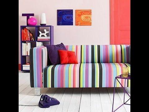 Весело, игриво и задорно полосатая мебель