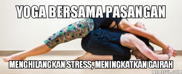 Pertimbangkan untuk melakukan yoga, karena penelitian menemukan bahwa latihan yoga teratur dapat meningkatkan gairah seksual dan pelumasan.  www.dokterandi.com  klik http://www.dokterandi.com/2016/01/14/yoga-yuk-sama-pasangan/
