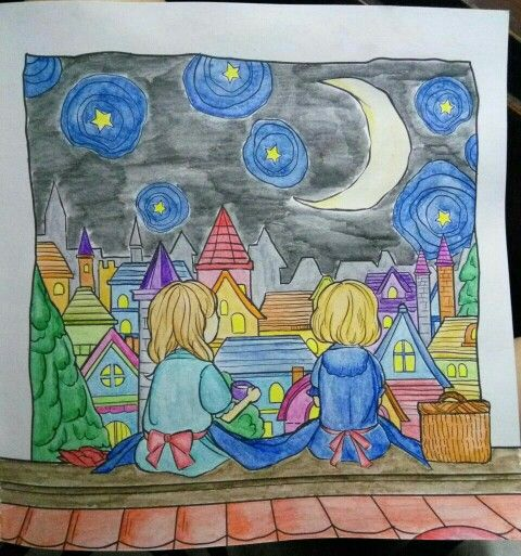 #coloringbookforadults #wanderingcolors #tabrakwarna #colorful #beautifulcolor #96
