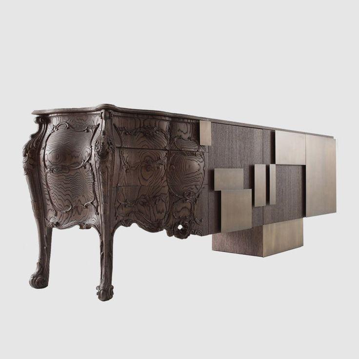 1000 id es sur le th me bahut industriel sur pinterest for Reproduction meuble design