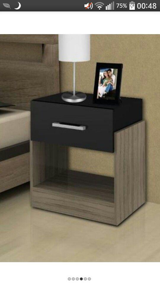 Mesa de luz melamina proyectos que intentar pinterest for Buros de cama modernos