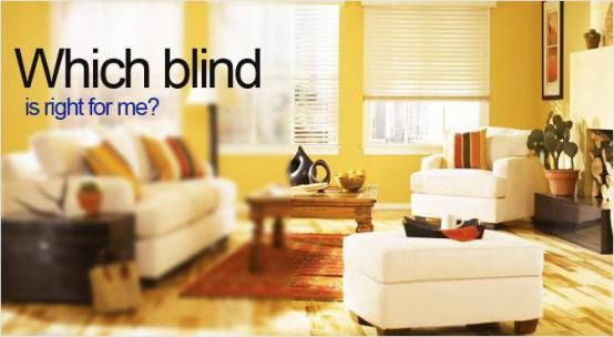 How to choose the matching #Romans #blind for your room decoration.