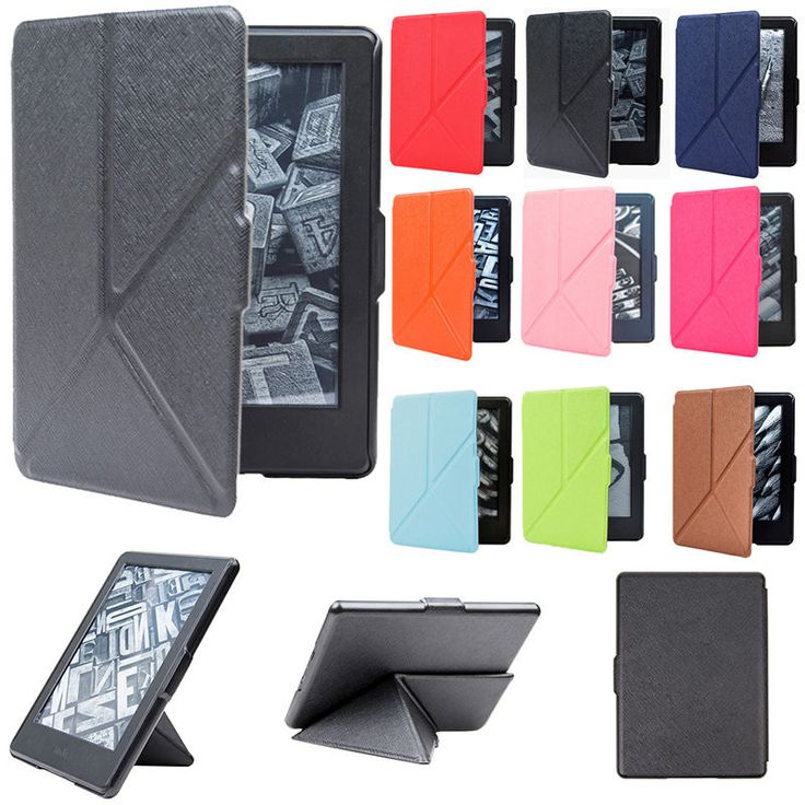 Fit to: New Kindle(8th Generation 2016). Material: Micro fiber leather. 1 X Case Cover. Lined with soft materials, effective protection of the screen. We will reply you ASAP. Multiple folding mode,suitable for various conditions of use.   eBay!
