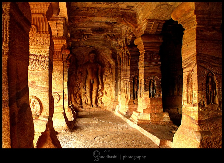 The Badami cave temples are a complex of temples located at Badami, a town in the Bagalkot District in the north part of Karnataka, India. They are considered an example of Indian rock-cut architecture, especially Badami Chalukya Architecture.