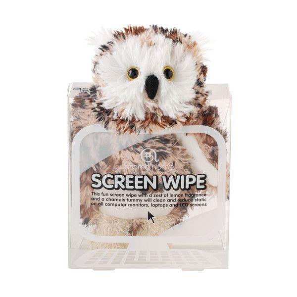Aroma Home Screen Wipe Owl