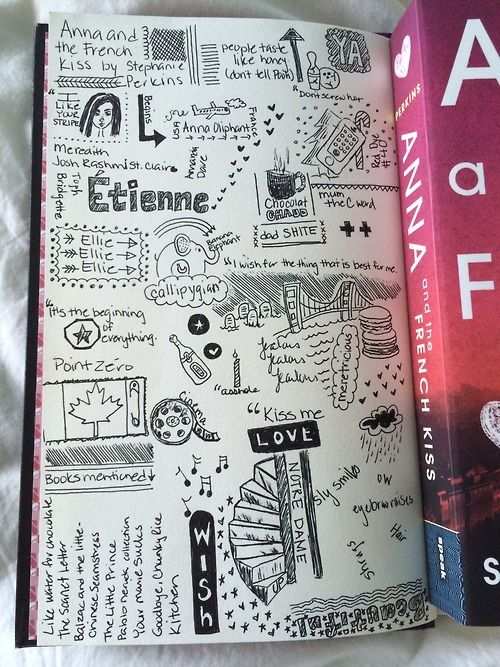 naturallysteph: Anna and the French Kiss doodle book review...