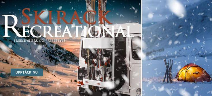 Skirack FREESE & BRUNO  #vinter #skirack